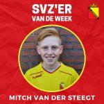 SVZ'er van de week: Mitch van der Steegt uit de JO13
