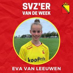 SVZ'er van de week: Eva van Leeuwen uit de MO15