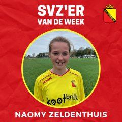 SVZ'er van de week: Naomy Zeldenthuis uit de MO15