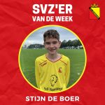 SVZ'er van de week: Stijn de Boer uit de JO16