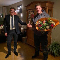 Jacco Domburg gekozen tot vrijwilliger van het jaar 2020