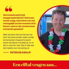 Een elftal vragen aan… Peter de Kruijf
