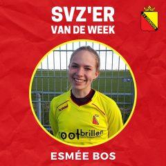 SVZ'er van de week: Esmée Bos uit de MO15