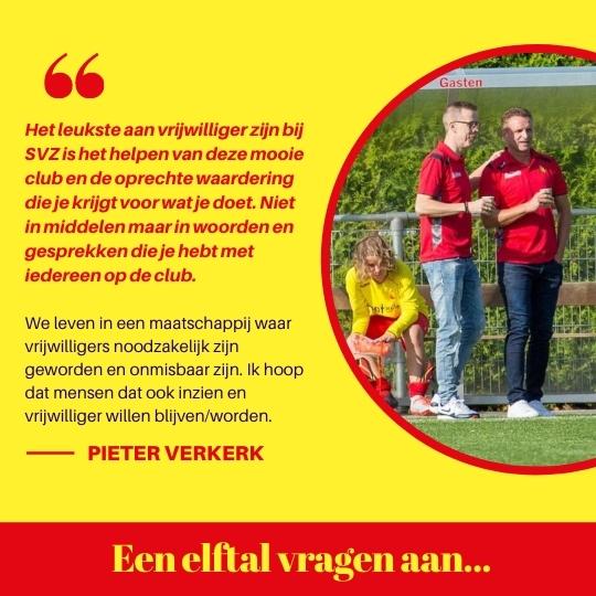 Een elftal vragen aan… Pieter Verkerk