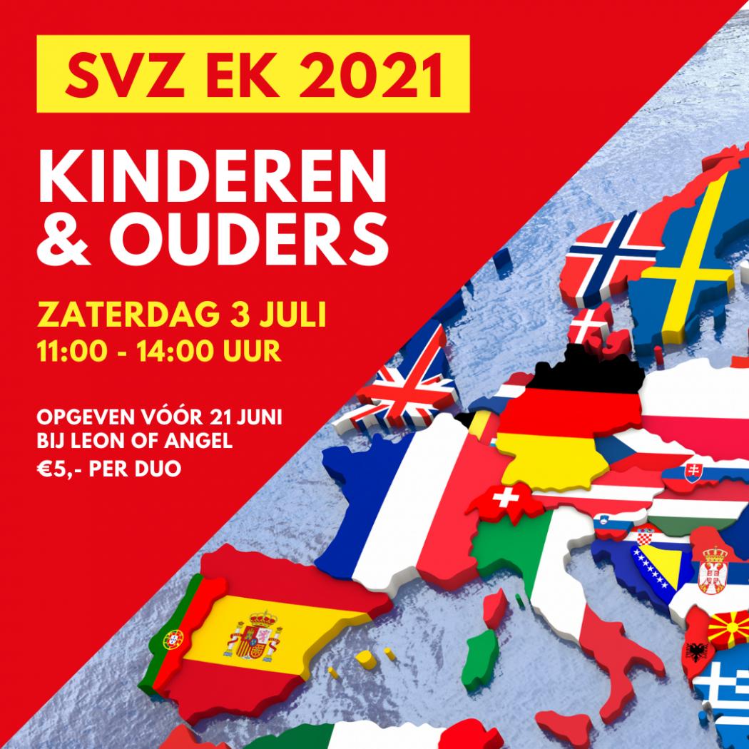 Ouder-kind activiteit 'SVZ EK 2021' op zaterdag 3 juli