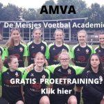 De Amsterdamse Meisjes Voetbal Academie komt naar Zevenhoven