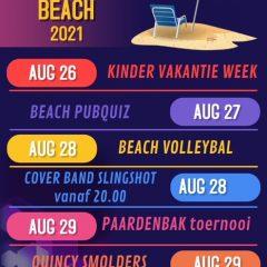 Informatie Summer Beach 2021