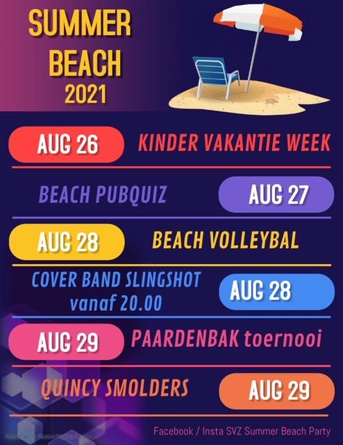Programma Summer Beach 2021