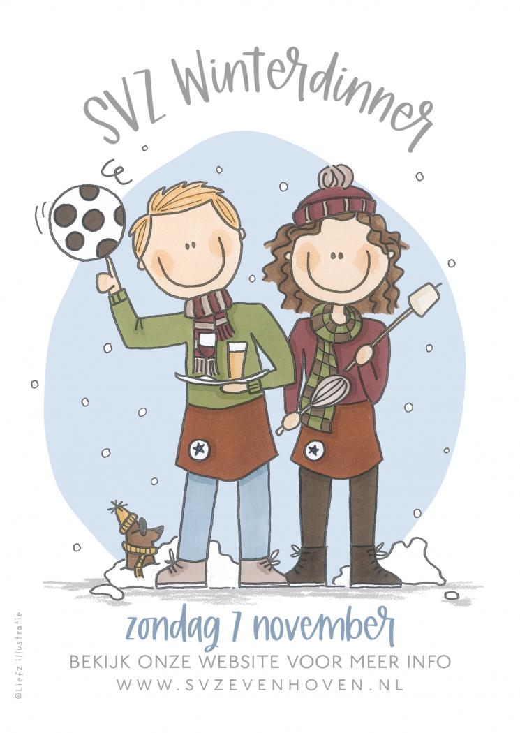SVZ Winterdinner op zondag 7 november