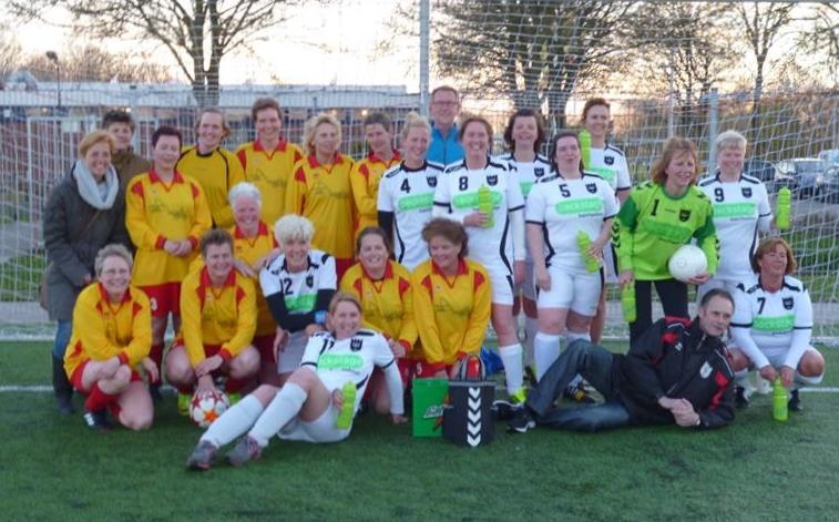 vrouwen veteranen SVZ en HSV